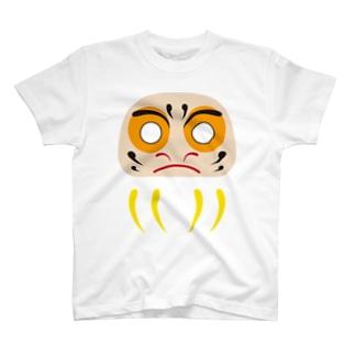 だるまさんアップ目入れ T-shirts