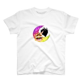 《ハロウィン》05*魔女っ子みけ* T-shirts
