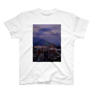 かごしまエモいぜの桜島 T-shirts