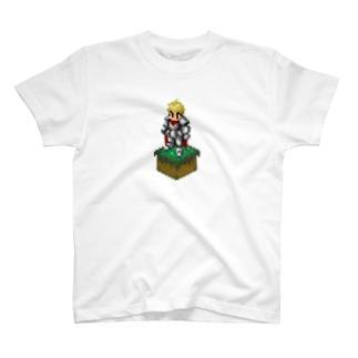 ドット絵 ナイト T-shirts