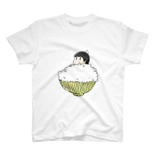 ごはんに埋もれる T-shirts