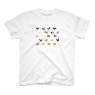イッヌいっぱい天国 T-shirts