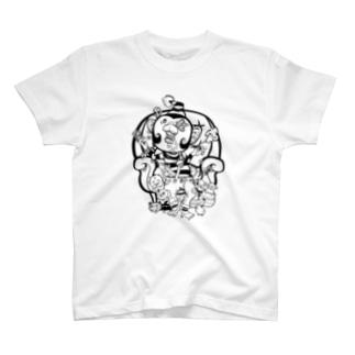 マネーモンキー T-shirts