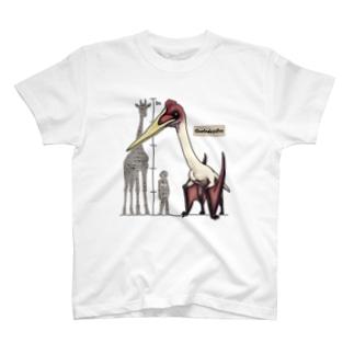 翼竜 ケツァルコアトルス T-shirts