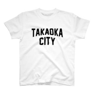 高岡市 TAKAOKA CITY T-shirts