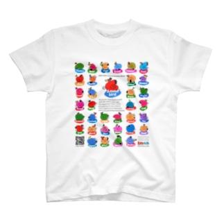 Ammo_Tシャツ(両面) T-shirts