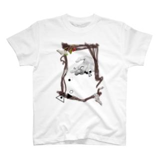 ぴぴぴ。【受信】 T-shirts