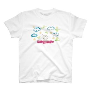 るんるんラメラメねこちゃん T-shirts