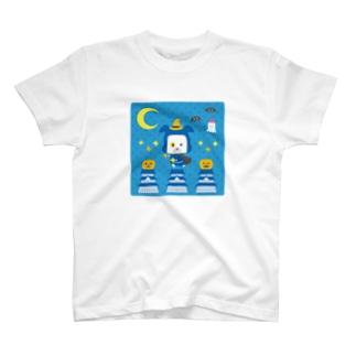 忍者犬たろうくん_ハロウィン2020-2 T-shirts
