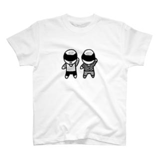 えいりお日記オリジナル(モノクロ) T-shirts