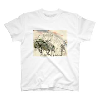 建物 T-shirts