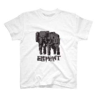 futakineのelephant T-shirts
