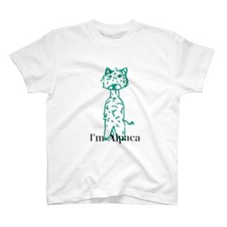 自称アルパカ T-shirts