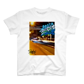 仏教語グラフィティ「無常」 T-shirts