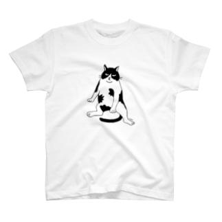 100nyan002.ねこじろどん T-shirts