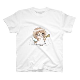 もえさん🍑のお天使☆もえてぃん T-shirts