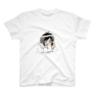 お天使☆えみてぃん T-shirts