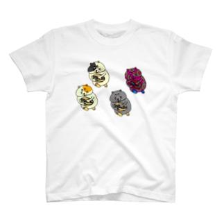 ハムスター走る T-shirts