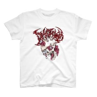 破壊髑髏T T-shirts