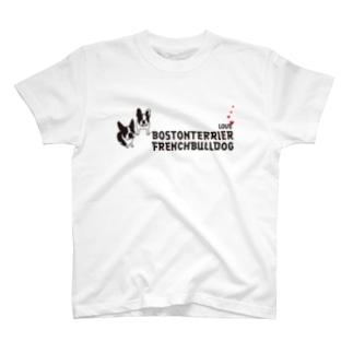 BOSBULL  LOVE その1 T-shirts