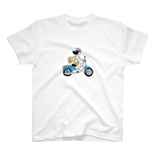 バイクガール T-shirts
