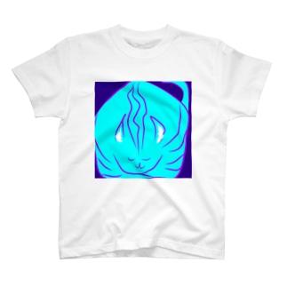 ねこ3 アートワーク T-shirts