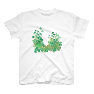 Cafe de Foretのゼニゴケ T-shirts