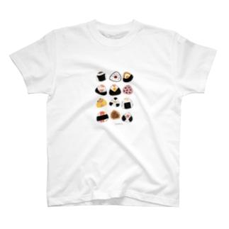 おにぎりーず T-shirts