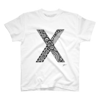 ゴシックのX T-shirts