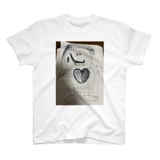 心ダディーTシャツ T-shirts