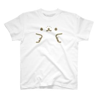 かんザラシフェイス T-shirts