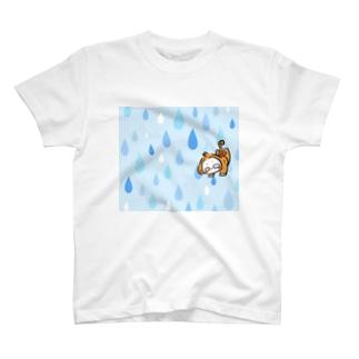 くろ【ダーリンとあちし】のおちゃるのもんちゃん T-shirts