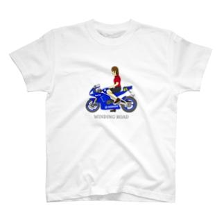 バイク女子 T-Shirt