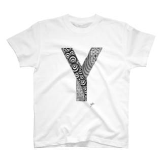 ゴシックのY T-shirts