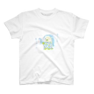 アマビエちゃん【手っこばあらわいん】 T-shirts