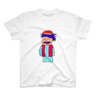 人シリーズ チャイナおじさん T-shirts