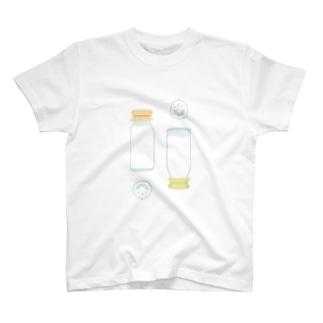 さかさミルクビン T-shirts
