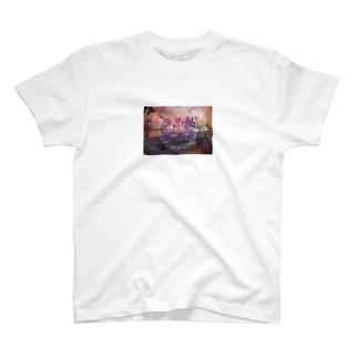 ギャンペイオリジナル猫化粧パーカー T-shirts