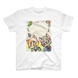 おニャン子ノート T-shirts