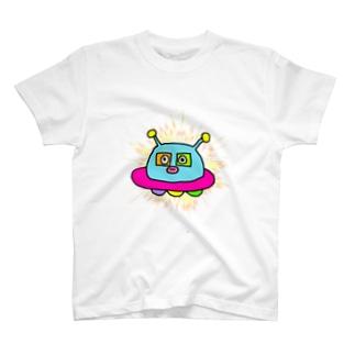 おとぼけUFO丸 T-shirts