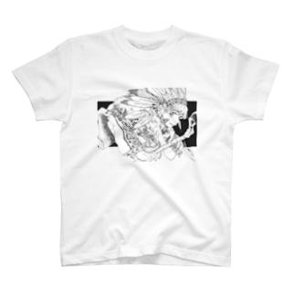 インディアン T-shirts