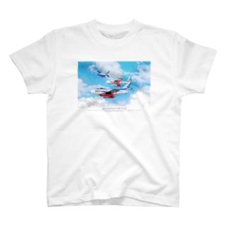 ブルーインパルス Blue Impulse F86 T-shirts