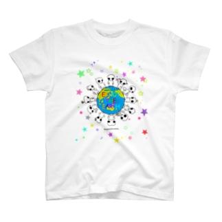 宇宙人みちお T-shirts