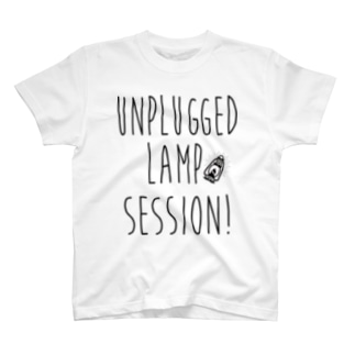 Unplugged Lamp Session type logo T-shirts