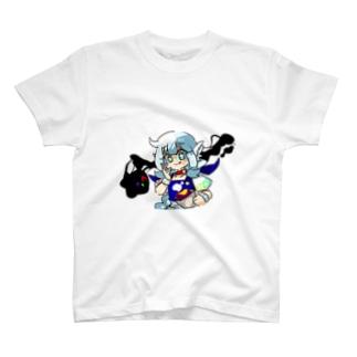 もぐもぐヴァハトちゃん T-shirts