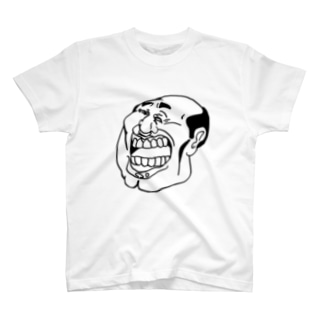 WHITE OYA=G=SMILE T-shirts