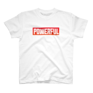 POWERFUL T-shirts