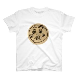 イエティ隊長のモニモニアイコン T-shirts
