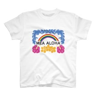 MEA ALOHA・メアアロハ T-shirts