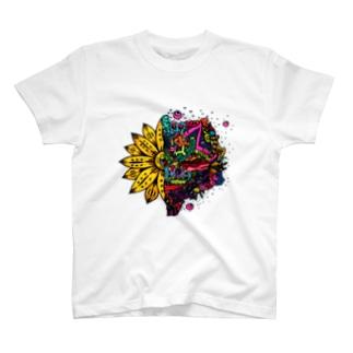向日葵くんの世界観 T-shirts